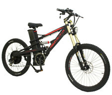 EU DUTR FREE Black 48V 1500W Mustang Mountain Ebike+48V18Ah Li-ion Battery Ebike