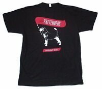 Pretenders Summer Tour 2007 Dog Image Black T Shirt New Official