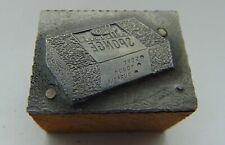 Vintage Printing Letterpress Printers Block Sponge