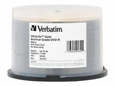 Verbatim Ultralife 4.7 GB 8x Gold Archival Grade Dvd-r 50-disc Spindle 95355