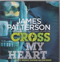 James Patterson Cross My Heart 6CD Audio Book Abridged Alex Cross 21 FASTPOST