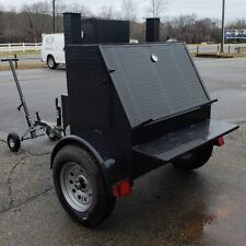 Weekender Mobile BBQ Smoker 48 Grill Trailer Food Truck Mobile Kitchen Business
