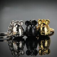 Rat Mouse Keychain Trinket Animal Car Key Bag Pendant Keyring New year Gift_ti