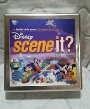 DISNEY SCENE IT? DVD Board GAME Tin (most pieces sealed)