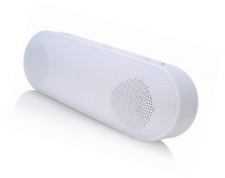 2BOOM Boom Go Wireless Bluetooth Portable Speaker with Built-In Microphone - Whi