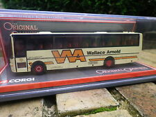 CORGI BUS VAN HOOL ALIZEE WALLACE ARNOLD TOURS LTD échelle 1/76 NEUF EN BOITE