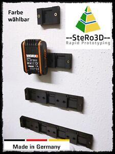 Akku Wand Halterung 16V 20V Batterie Halter für Worx Power Share Wandhalter