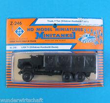 Roco Minitanks H0 Z 246 MAGIRUS DEUTZ JUPITER LKW 7t P/P HO 1:87 Blister OVP