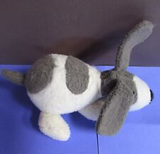 Mary Meyer Earthmates FUZZ THAT WUZZ Gray/White SPOTTED DOG - Recycled Materials