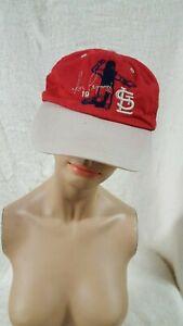 Tom Pagnozzi St. Louis Cardinals Baseball Cap Hat 19 Molina  SGA Coca Cola Shell