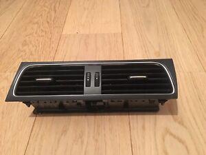 2010 AUDI A4 B8 CENTER DASHBOARD AIR VENTS 8T2820951 B