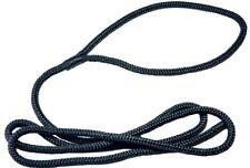 Fenderleine schwarz geflochten Fenderleinen mit Auge für Bootsfender L 1,60