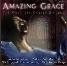 AMAZING GRACE - THE GREATEST GOSPEL SINGERS / 2 CD-SET - TOP-ZUSTAND