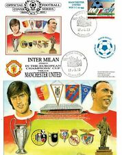 1999 Inter Milan v Manchester United - First Day Cover