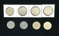 Australia Fifty 50 Cent Commemorative Coin collection X 8