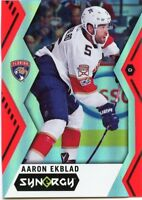 17/18 UPPER DECK SYNERGY RED #13 AARON EKBLAD PANTHERS *46997