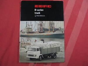 Rare Ebro D-Series   truck brochure prospekt