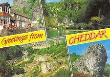 BR76318 greetings from cheddar  uk