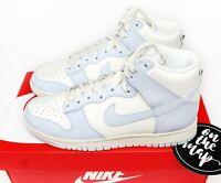 Nike Dunk High Sail Football Grey Pale Ivory Blue White UK 3 4 5 6 7 8 9 US New