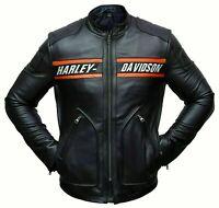 WWE Goldberg Bill Harley Davidson jacke Origional Leather Biker Jacket Neue Herr