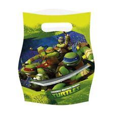6 paquets Teenage Mutant Ninja Turtles POCHETTES SURPRISES FÊTES ANNIVERSAIRE