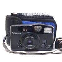 Fujifilm 35mm Compact Film Camera DL-270 Zoom w/ Flash & CASE WORKING in VGC