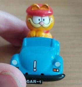 Vintage 1990's TV Garfield blue ERTL car 1981 die cast