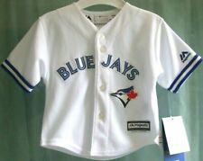 TORONTO BLUE JAYS * Majestic * Official MLB BASEBALL JERSEY Shirt * 12 M *NEW*93