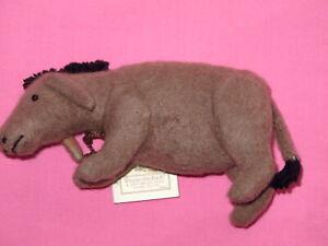 "R. John Wright - Winnie the Pooh Series - Eeyore 6"" Felt Doll"