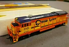 Complete Bachmann Electric Train set 0626 Chessie GE U36B Diesel HO *see pics!*
