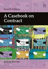 A Casebook on Contract - 4th Edition, Andrew Burrows,  Book