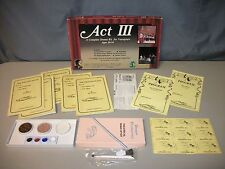 Act III The Dragon Plays Complete Drama Kit Children Kid Church School Game Set
