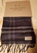 Sciarpa Burberry Cashmere, TAG Nuovo di zecca con scatola regalo e autentico rrp £ 350 Unisex