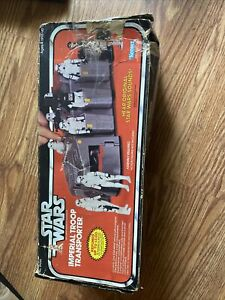 Vintage 1979 Star Wars Imperial Troop Transport. box Only Bad Condition