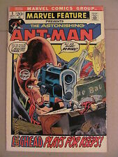 Marvel Feature #5 Bronze Age 1972 re-intro Ant-Man 2nd app since 1960's MOVIE