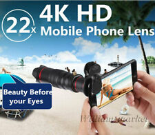 22x 4K HD Zoom Telecope Telephoto Camera Lens+Clip For iPhone 12 Pro XS 8 Plus 7