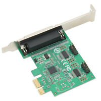 PCI-E to 2 Serial 1 Parallel Port Printer Card Expansion Adapter for Computer PC