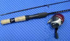 """Zebco 202 Authentic Series 5' 0"""" Light Spincast Combo ZASC502LA-GWH5 - 202 reel"""