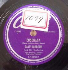 DAVE BARBOUR on Capitol 57-60002 - Ensenada - Bebop Jazz 78 EE-