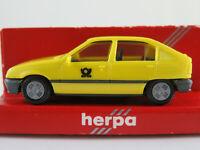 "Herpa 4089 Opel Kadett E (1984) ""Deutsche Bundespost"" in gelb 1:87/H0 NEU/OVP"
