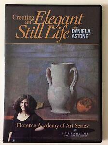 Creating an Elegant Still Life with Daniela Astone - Art Instruction DVD