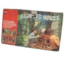 Rare Halloween Vintage Haunted House Board Game Denys Fisher With BOX Original