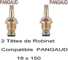 2 TêteS Robinet Compatible PANGAUD, Mélangeur à Clapet, Filetage 18 x 150