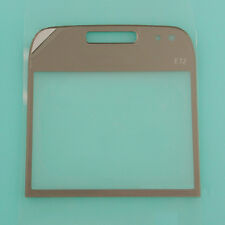 Grey Front LCD Screen Lens Glass Cover Window Panel Replacement For Nokia E72