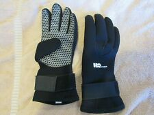 Scuba Diving Snorkeling Neoprene Gloves H2O Odyssea 3mm Black X-Large
