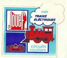 Autocollant sticker Jouef Train électrique circuit électrique HO jouet
