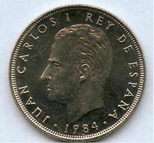 ESPAÑA 25 Pesetas 1984  Rey Juan Carlos I  - M  Coronada S/C