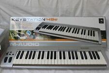M Audio Keystation 49e MIDI controller with box