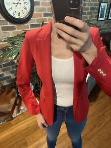 Zara Blazer Red XS