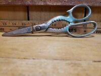 1950 WISS Scissors Shears Kitchen Poultry Heavy Duty Jar Opener 1KS Nut Crackers